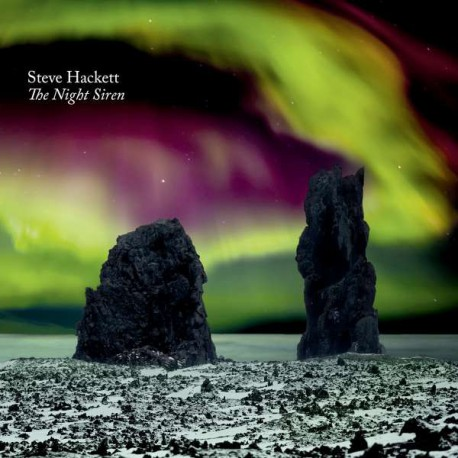 Steve Hackett ‎- The Night Siren - Double LP Vinyl + CD