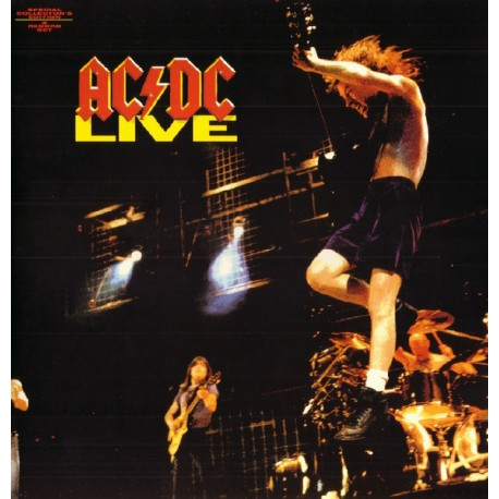 AC/DC - Live - Double LP Vinyl Album - Special Collector Edition