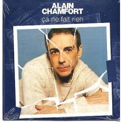 Alain Chamfort - Ça Ne Fait Rien - CD Single 1 Track
