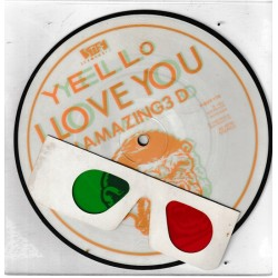 Yello ‎– I Love You - In Amazing 3 D - Vinyl 45 RPM - Picture Dic
