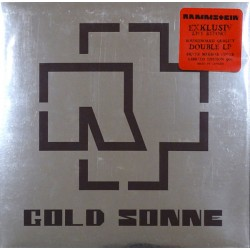 Rammstein ‎– Gold Sonne - Double LP Vinyl Album - Silver Cover