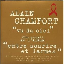 Alain Chamfort - Vu Du Ciel - CD Single Promo 1 Track