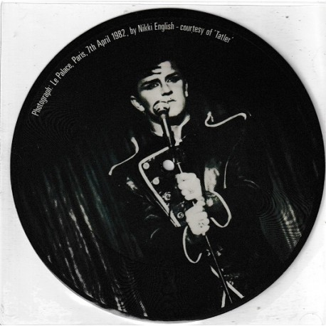 Visage ‎– Night Train - Vinyl 7 inches 45RPM - Picture Disc