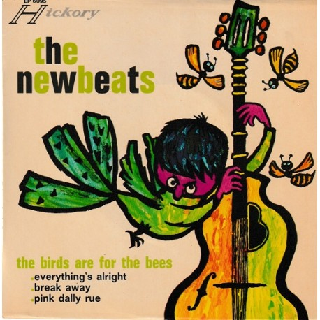 The Newbeats ‎– The Birds Are For The Bees - EP Vinyl 7 inches 45 RPM