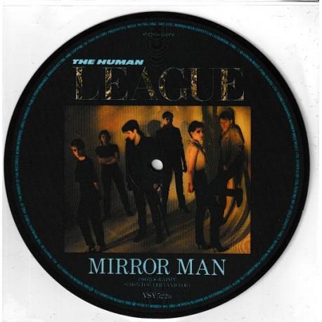 The Human League – Mirror Man - Vinyl 7 inches Picture Disc 45RPM
