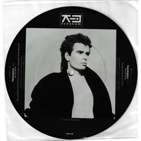 Nik Kershaw ‎– The Riddle - Vinyl 7 inches 45RPM - Picture Disc