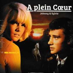 Johnny Hallyday & Sylvie Vartan‎– A Plein Coeur - 7 inches Limited Edition Picture Edition