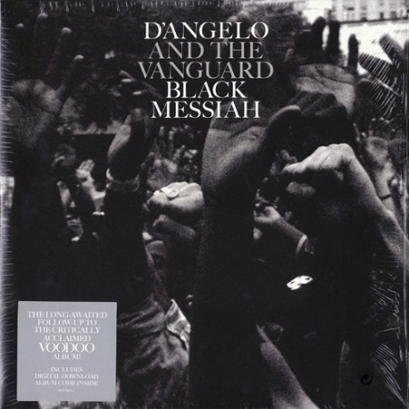 D'Angelo And The Vanguard – Black Messiah - Double LP Vinyl Album + MP3 Code