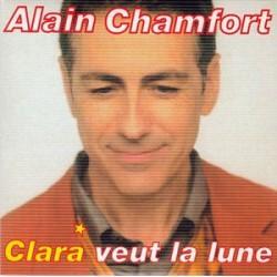 Alain Chamfort – Clara Veut La Lune - CD Single 2 Tracks