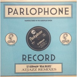 St Germain ‎- Real Blues - Atjazz Remixes - Maxi Vinyl 12 inches