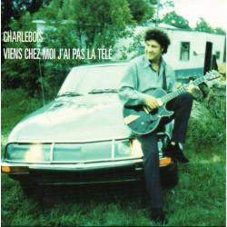 Robert Charlebois - Viens Chez Moi J'Ai Pas La Télé - CD Single Promo 1 Track