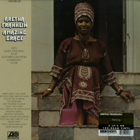 Aretha Franklin - Amazing Grace - Double LP Vinyl Album