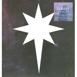 David Bowie ‎– No Plan EP - Record Store Day - Clear Blue Vinyl - Disquaire Day 2017