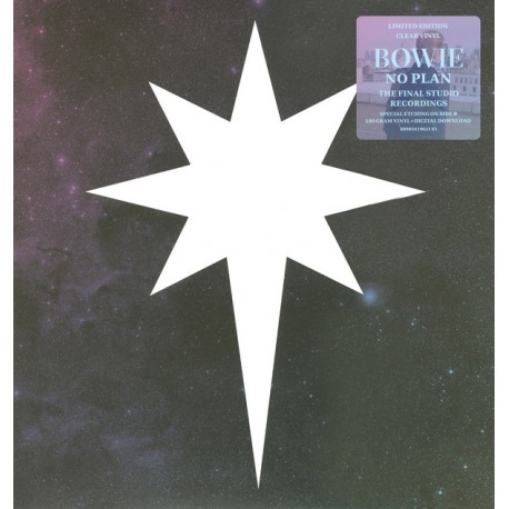 David Bowie – No Plan EP - Record Store Day - Clear Blue Vinyl - Disquaire Day 2017