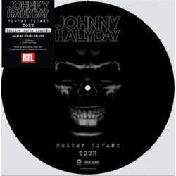 Johnny Hallyday ‎– Rester Vivant Tour - Disquaire Day 2017 - Picture Disc Vinyl