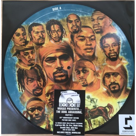 Muggs Presents – The Soul Assassins - Chapter 1 - Record Store Day - Picture Disc LP Vinyl