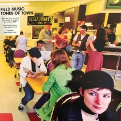 Field Music ‎– Tones Of Town - Record Store Day - LP Vinyl album Coloured Yellow
