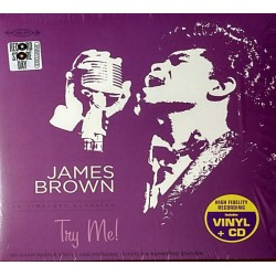 James Brown ‎– Try Me! - Record Store Day - LP Vinyl + CD Album - Coloured
