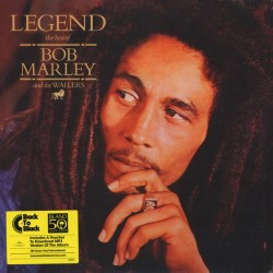 Bob Marley & The Wailers ‎– Legend - The Best Of Bob Marley And The Wailers - LP Vinyl Album + MP3 Code