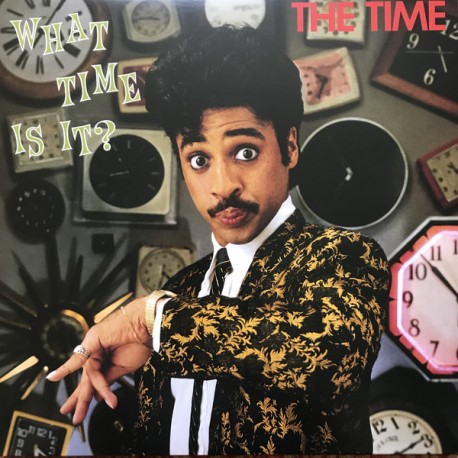 The Time – What Time Is It? - Record Store Day - LP Vinyl Album Coloured Green