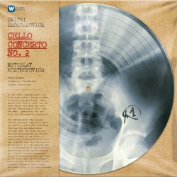 Dmitri Shostakovich - Mstislav Rostropovich ‎– Cello Concerto No. 2 - Record Store Day - Picture Disc Vinyl LP