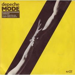 Depeche Mode – Blasphemous Rumours - Vinyl 7 inches 45 RPM