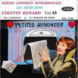 Colette Renard Accompagnée Par Raymond Legrand Et Son Orchestre – Vol.15 - Vinyl 7 inches