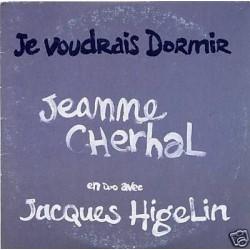 Jeanne Cherhal & Jacques Higelin - Je Voudrais Dormir - CD Single Promo 1 Track