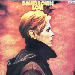 David Bowie ‎– Low - Splashed Brown LP vinyl Album