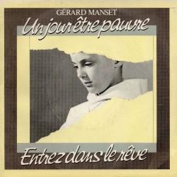 Gérard Manset – Un Jour Être Pauvre - Vinyl 7 inches 45 RPM