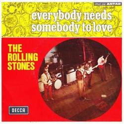 The Rolling Stones ‎– Everybody Needs Somebody To Love - Vinyl 7 inches 45 RPM