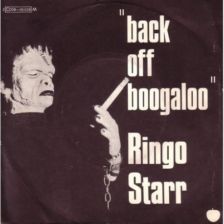 Ringo Starr (The Beatles) – Back Off Boogaloo - Vinyl 7 inches 45 RPM