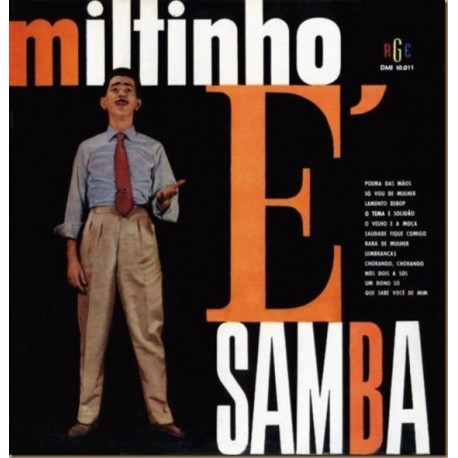 Miltinho ‎– Miltinho É Samba - LP Vinyl + CD Album