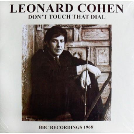 Leonard Cohen – Don't Touch That Dial - BBC Recordings 1968  - LP Vinyl Album