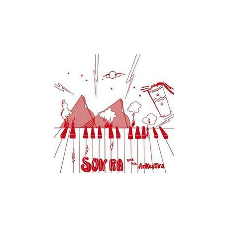 Sun Ra And His Arkestra – Super-Sonic Jazz - LP Vinyl Album + MP3 Code