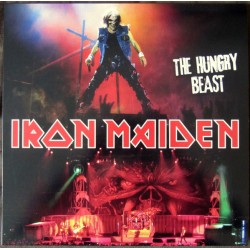 Iron Maiden ‎– The Hungry Beast - LP Vinyl Album Coloured Yellow