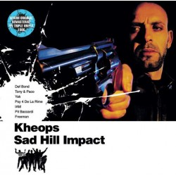 Dj Kheops (IAM) - Sad Hill impact - Remaster 2017 - Triple LP Vinyl