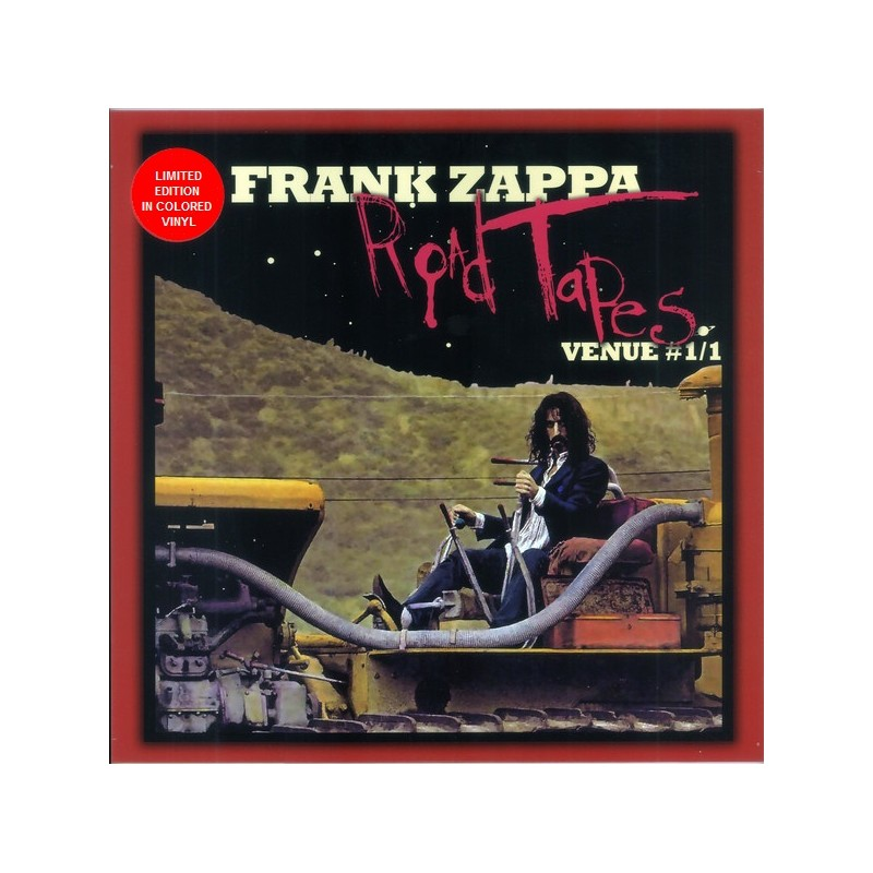 Vinyl Frank Zappa Road Tapes Venue 1 1 Coloured Limited