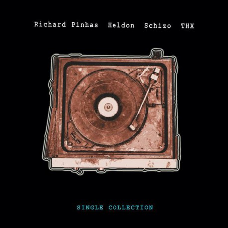 Richard Pinhas - Heldon, Schizo, T.H.X. – Single Collection - Double LP Vinyl Album - Record Store Day
