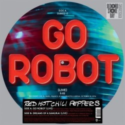 Red Hot Chili Peppers – Go Robot - Maxi Vinyl 12 inches Picture Disc - Disquaire Day