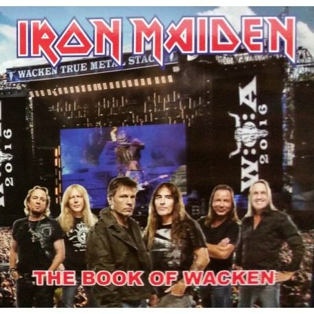 Iron Maiden ‎– The Book Of Wacken - LP Vinyl Album - Coloured