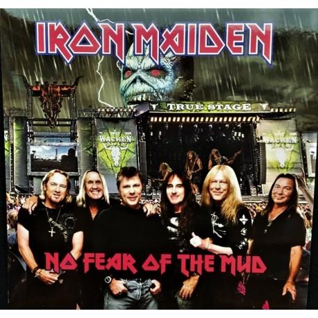 Iron Maiden – No Fear Of The Mud - LP Vinyl Album - Coloured White