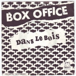 Box Office ‎– Dans Le Bois - Vinyl 7 inches 45rpm