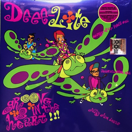 Deee-Lite – Groove Is In The Heart - What Is Love? - Maxi Vinyl Coloured Pink - RSD 2017