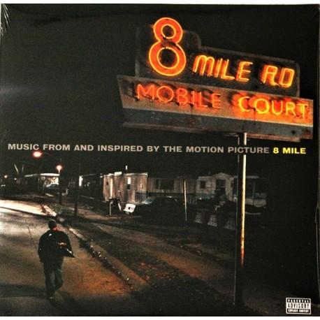 B.O.F. 8 Mile - Eminem - Nas - 50 Cent - Double LP Vinyl Album - Soundtrack
