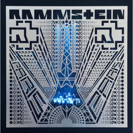 Rammstein ‎– Paris - Boxset Collector 4 LP Vinyl Coloured Blue + 2 CD + Blu Ray
