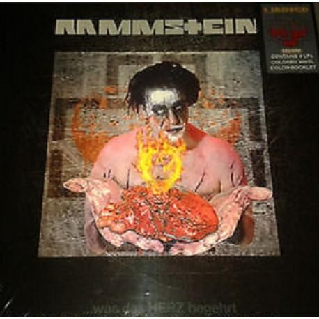 Rammstein - Was Das Herz Begehrt - Boxset Collector 4 LP Limited Numbered