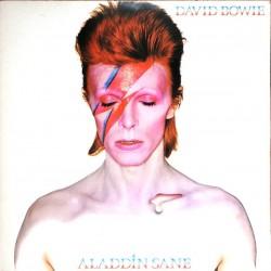 David Bowie – Aladdin Sane - LP Vinyl Album Blue Marbled