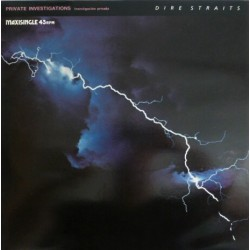 Dire Straits ‎– Private Investigations - Maxi vinyl 12 inches - Spain Edition