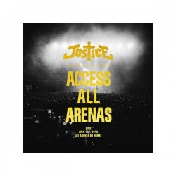 Justice – Access All Arenas - Double LP Vinyl + CD